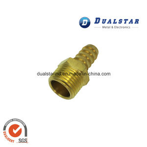 Brass Connector Parts Hollow Brass Rods CNC Machining