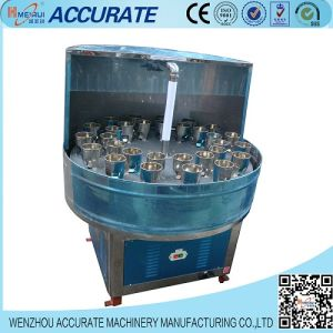 Semi-Auto High Efficiency Rotary Bottle Washer pictures & photos