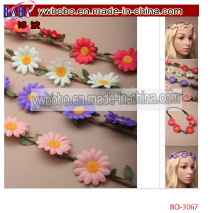 Daisy Flower Bandeau Forehead Browband Headband Summer Festival (BO-3067) pictures & photos