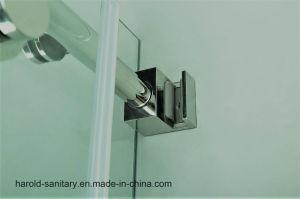Na-04 Frameless Round Sliding Rod Shower Enclosure pictures & photos