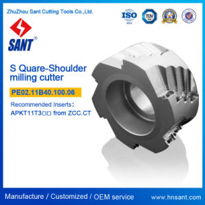Emp03-063-A27-Ap11-04 Milling Cutter Square Shoulder Indexable Milling Tools for CNC Usage Square Shoulder, Indexable Face Milling Tools Manufacturers pictures & photos