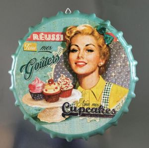 Customized Beer Tinplate Crown Caps for Wall Decoration pictures & photos