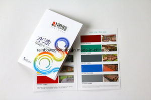 Customized Folded Glossy Paint Brochure Printing pictures & photos