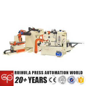 Steel Coil Nc Servo Roll Feeding Machine(Mac4-1000h pictures & photos