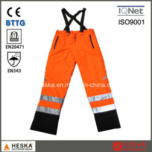 High Visibility Safety Waterproof Standard Reflective Trousers pictures & photos