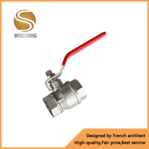 1/2 Inch Nickel Plated Brass Ball Valve pictures & photos