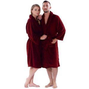 Man Wholesale Coral Fleece Sleepwear Bathrobe pictures & photos