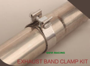 Accuseal Stainless Steel Single Bolt Exhaust Narrow Band Clamp pictures & photos