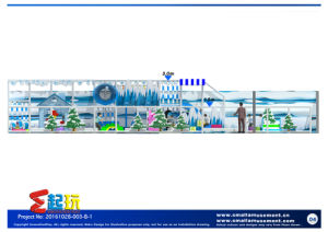 Innovation Play Snow Themed Indoor Playground pictures & photos
