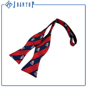 Twill Silk Custom Wholesale Self Tie Bow Tie pictures & photos