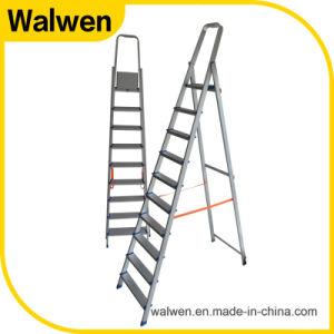 Hotsale Tube Lightweight Folding Agility Aluminum Ladder pictures & photos
