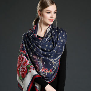 Silk Georgette Scarves for Woman pictures & photos