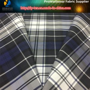 Polyester Men Jacket Fabric in Yarn Dyed Check Fabric with Waterproof (YD1176) pictures & photos
