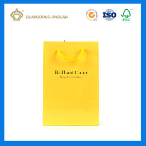 Strong Quality Paper Carrier Bag for Oliver Oil (with foil logo) pictures & photos