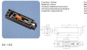Window and Door Sash Roller/Pulley (SA-152) pictures & photos