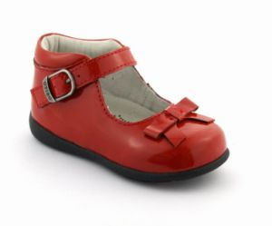 Girl′s Leather School Shoes Mary Jane Arch Support pictures & photos