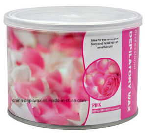 Professional Salon Depilatory Wax Pink of Strip Waxing pictures & photos