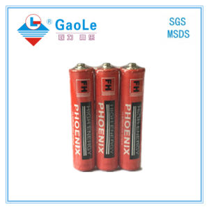 AAA 1.5V Super Heavy Duty Dry Battery (R03P) pictures & photos