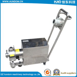 Stainless Steel Mobile Emulsion Pump pictures & photos