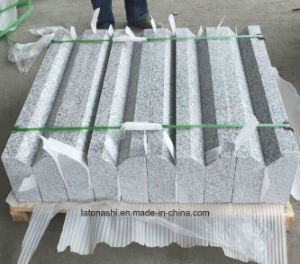 Factory Grey Flamed Granite Kerbstone for Outdoor pictures & photos