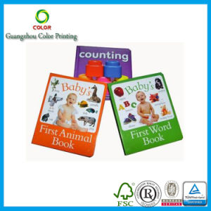 China Factory Printing Board English Learning Book for Kids