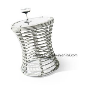 Good Quality Cheaper Outdoor Aluminium Chair Cafe and Ratan Table for Modern Garden Use pictures & photos