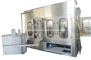 Small Scale Complete Semi Automatic Pet Bottle Drinking Water Production Line for 500ml 1500ml pictures & photos