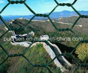 Security PVC Coated Wire Chain Link Fence Mesh pictures & photos