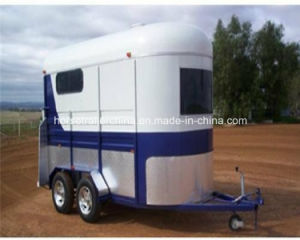 China Factory Supply 2 Horse Trailer/Horse Floats Hot Sale pictures & photos