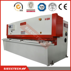 hydraulic Swing Beam Shearing Machine QC12y-6X3200 China Manufacturer Guillotine Hydraulic Shear Machine pictures & photos