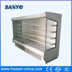 Supermarket Four Layers Upright Freezer Beverage Refrigerator pictures & photos