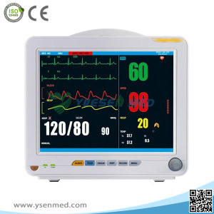 Yspm80g Medical Manufacturer Hospital ICU Ambulance Cheap 6 Standard Parameters Patient Monitor pictures & photos