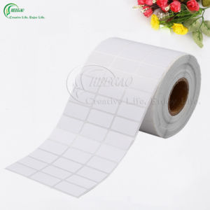 Customed Self-Adhesive Blank Labels in Roll (KG-PL009)