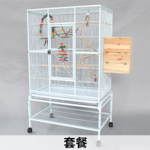 Top Big Parrot Finch Cage Metal Wire Bird Cage pictures & photos