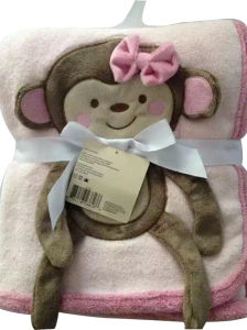 High Quality Soft Feeling Animal Design Toy and Baby Fleece Blanket pictures & photos