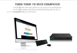 Android 4.4 Quadcore DVB-S2+T2 /C TV Box with Mickyhop Store pictures & photos