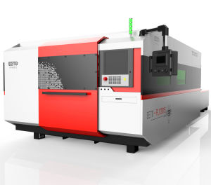 Third Generation 1500W Raycus Fiber Laser Cutting Machine with Double Table pictures & photos