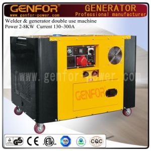 200A 5kw Diesel Welding and Generating Double Use Machine with Brush or Brushless pictures & photos