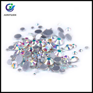 1440PCS 4.6-4.8mm Crystal Ab Hot Fix Luxury Rhinestones pictures & photos