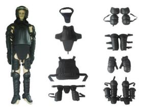 Riot Gear Equipment/Police Anti-Riot Suit with Fire Resistant Fabric pictures & photos