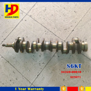 Diesel Engine S6kt Crankshaft (34320-00010 5I7671) for Excavator Parts pictures & photos