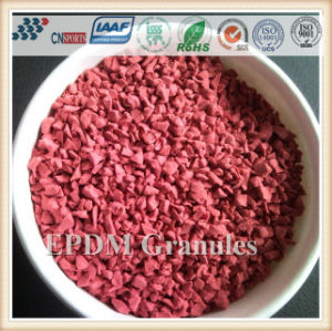 Running Track EPDM Rubber Granules for Flooring Surface pictures & photos