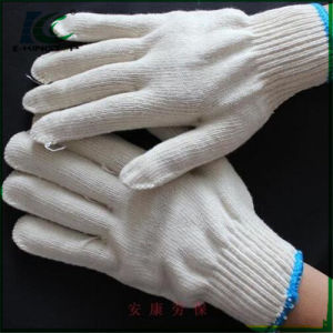 Hot Sale Nylon/Cotton/Polyester Knitted Gloves in Korea Market pictures & photos