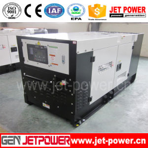 24kw 30kVA Diesel Portable Generator with Soundproof Canopy pictures & photos