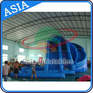 Inflatable Slide for Sale Inflatable Water Slide with Pool pictures & photos