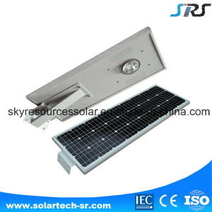All in One Solar LED 50 Watt Street Lamp pictures & photos