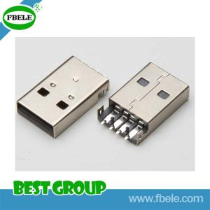 Fbusba1-110 USB 4port Hub USB/a Type/Plug/SMT Type USB Connector pictures & photos