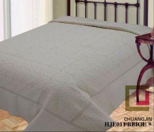 Embroider Quilt Bedding Set Microfiber/Cotton pictures & photos