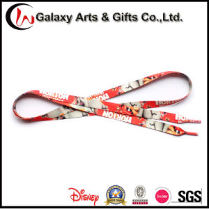 Quality Colorful Promotion Sublimation Polyester Flat Printed Shoelaces pictures & photos