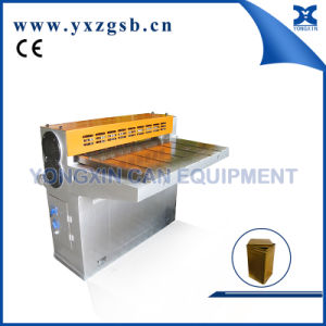 Semi-Automatic Tinplate Sheet Tin Can Gang Slitter Machine pictures & photos
